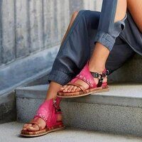 shoes woman sandals flat casual summer sandals womens fashion rome flip flops wedges sandals artificial leather platform shoes