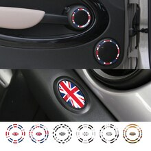 1 jeu dautocollants sonores de voiture Union Jack   En PVC, pour MINI COOPER JCW R55 R56 R57 R58 R59 R60 R61 Countryman, accessoires de voiture