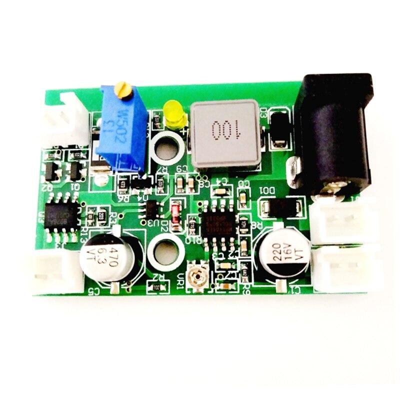 1 Вт 1,6 Вт 2 Вт 445 нм 405 нм 520 нм синий зеленый фиолетовый лазер 12 В драйвер плата