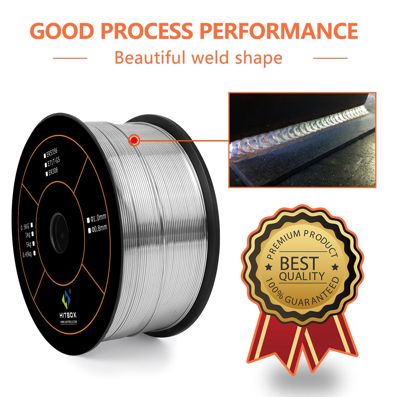HZXVOGEN 0.8mm 1mm Aluminum Wire For MIG Welding 0.5kg Welder Accessories Welding Wire