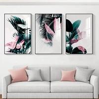 Affiche de plante tropicale  peinture imprimee  decoration murale abstraite  peinture dart moderne  maison  salon nordique