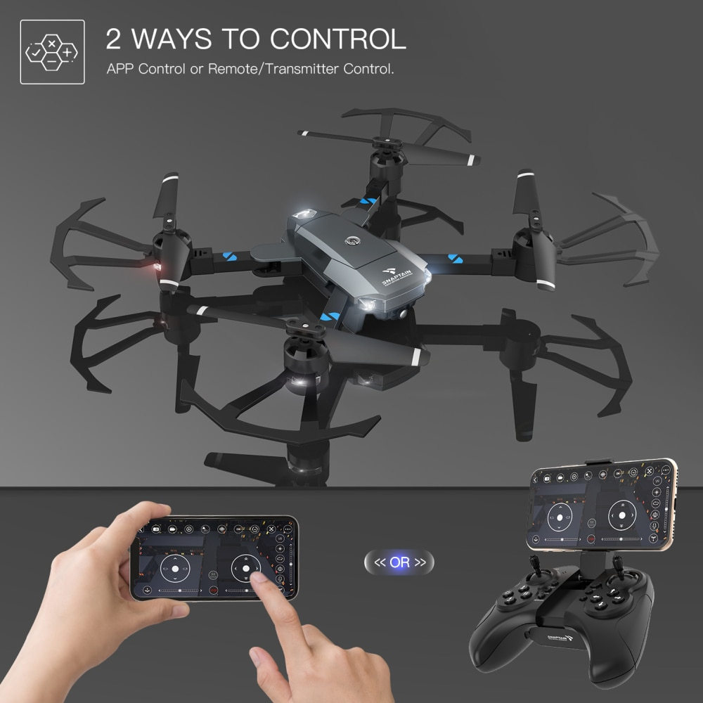 SNAPTAIN AA5MQ Quadcopter 1080P WIFI FPV Drone HD Camera Mode Foldable Arm RC Foldable Quadcopter Dron Christmas Gift kids gift enlarge
