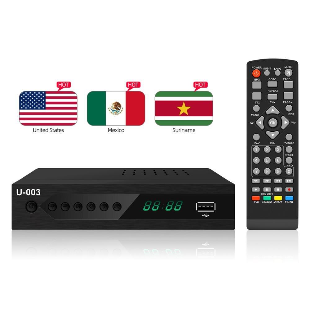 2020 digital tv konverter box hd 1080P digital-receiver dvb atsc decoder dvb t2 unterstützung ac3 set top box dvb tv empfänger