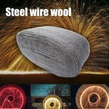 3,3 m Auto Stahl Draht Wolle Grade 0000 Für Auto Polieren Reinigung Entfernen Remover Nicht Crumbl Tragbare Auto Styling Mikrofaser