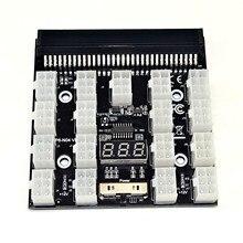 Pci-E 12V 64pin Om 17x 6pin Voeding Server Adapter Breakout Board Voor Hp 1200W 750W Psu server Gpu Btc Mining #3