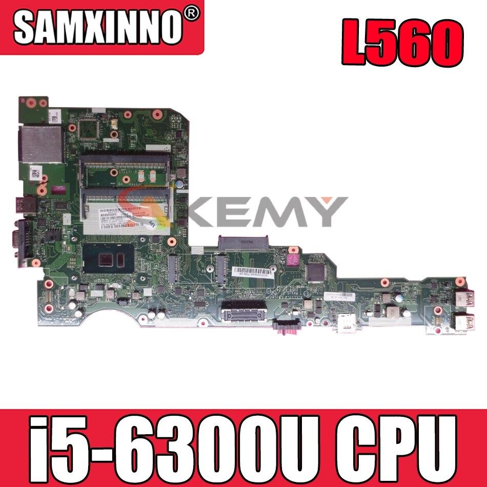 ل ThinkPad L560 اللوحة الأم للكمبيوتر المحمول AILL1/L2 AILL3 LA-C421P ث/وحدة المعالجة المركزية i5 6300U اختبار موافق FRU 00UR185 01LV952 01LV950 اللوحة الرئيسية