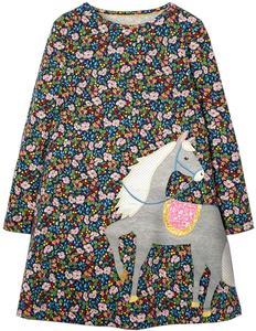 Unicorn Party Girls Dress Children Autumn Winter Kids Dresses for Girls Clothes Robe Fille Kids Party Dresses