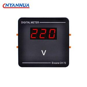 LED Digital voltmeter Voltage Meter Volt Instrument Tool Red Display DIY 0.56 Inch Alternative Pointer Voltmeter