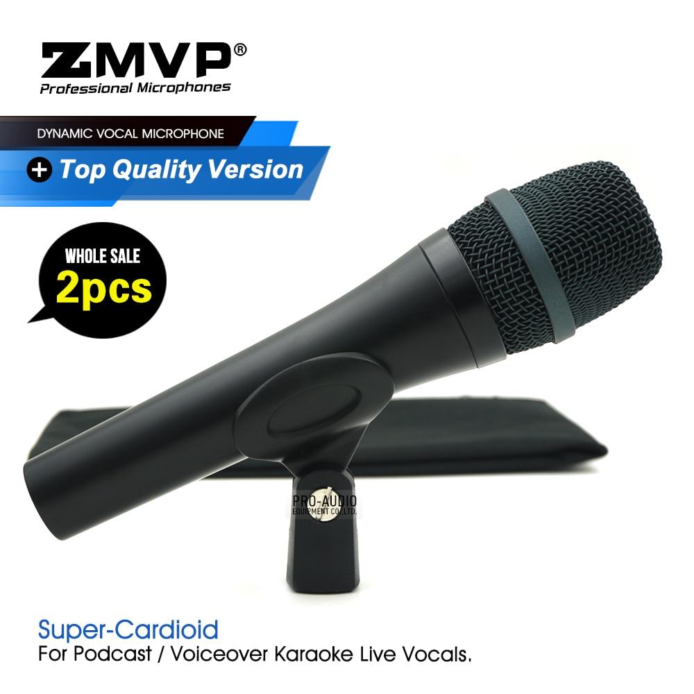 2 قطعة/الوحدة الصف جودة E945 المهنية الأداء الديناميكي السلكية ميكروفون سوبر القلب 945 Mic ل لايف غناء كاريوكي