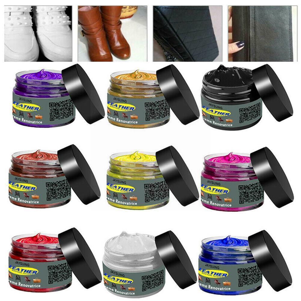 Car Seat Care Kit Liquid Leather Skin Refurbish Repair Tool For Shoe CarSeat Sofa Coats Holes Scratch Crack Repair Cream B6L8