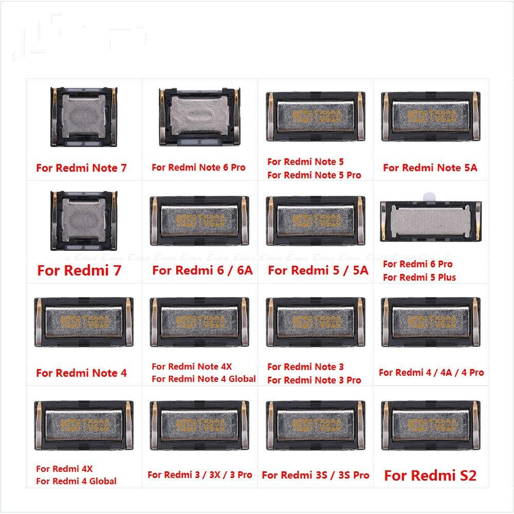 Para XiaoMi Redmi Nota 7 6 6A 5 5A 4 4X 4A 3 3X 3S Pro S2 mundial construido en auricular superior oreja altavoz