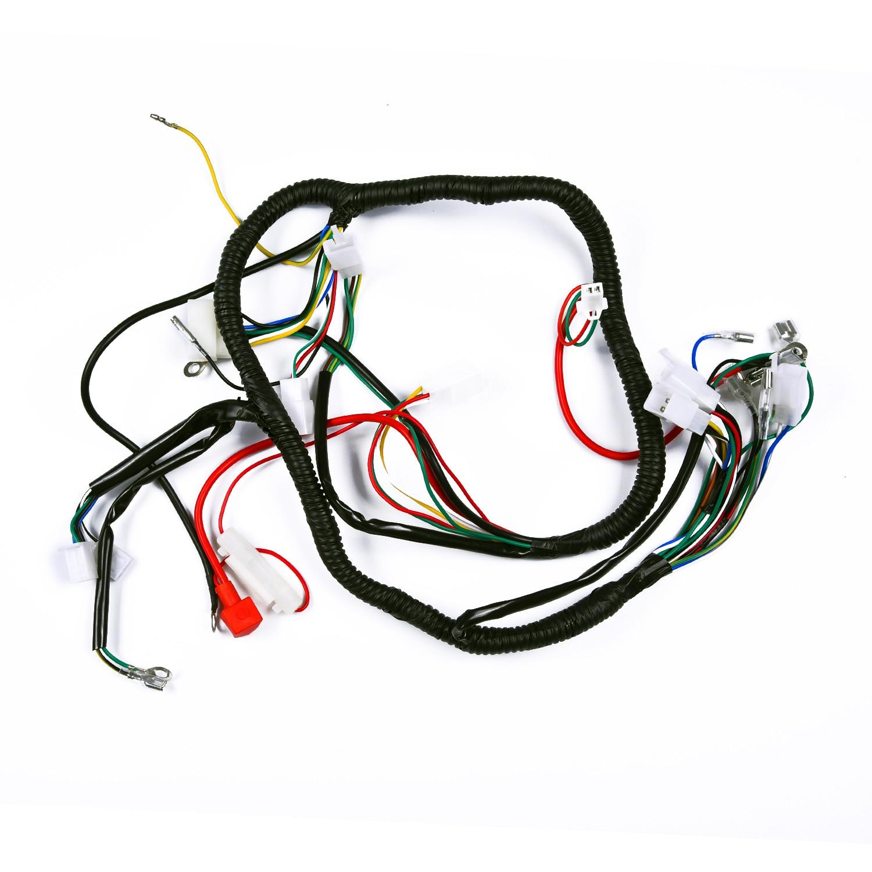 Arnés de cableado completo, arnés de cables para ATV QUAD 150/200/250CC, estator útil, piezas prácticas, caliente