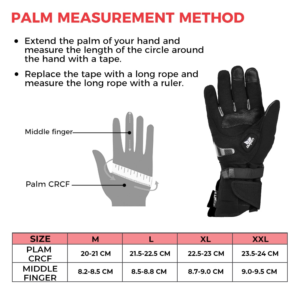 New 2020 Winter Motorcycle Gloves Waterproof Warm Moto Guantes Touch Screen Anti-Slip Motorbike Riding Gloves Carbon Protective enlarge
