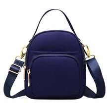 Women Messenger Bag Mini Nylon Purse For Women Shoulder Crossbody Bags Fashion Ladies Phone Handbags School Bags Bolsa Sac A