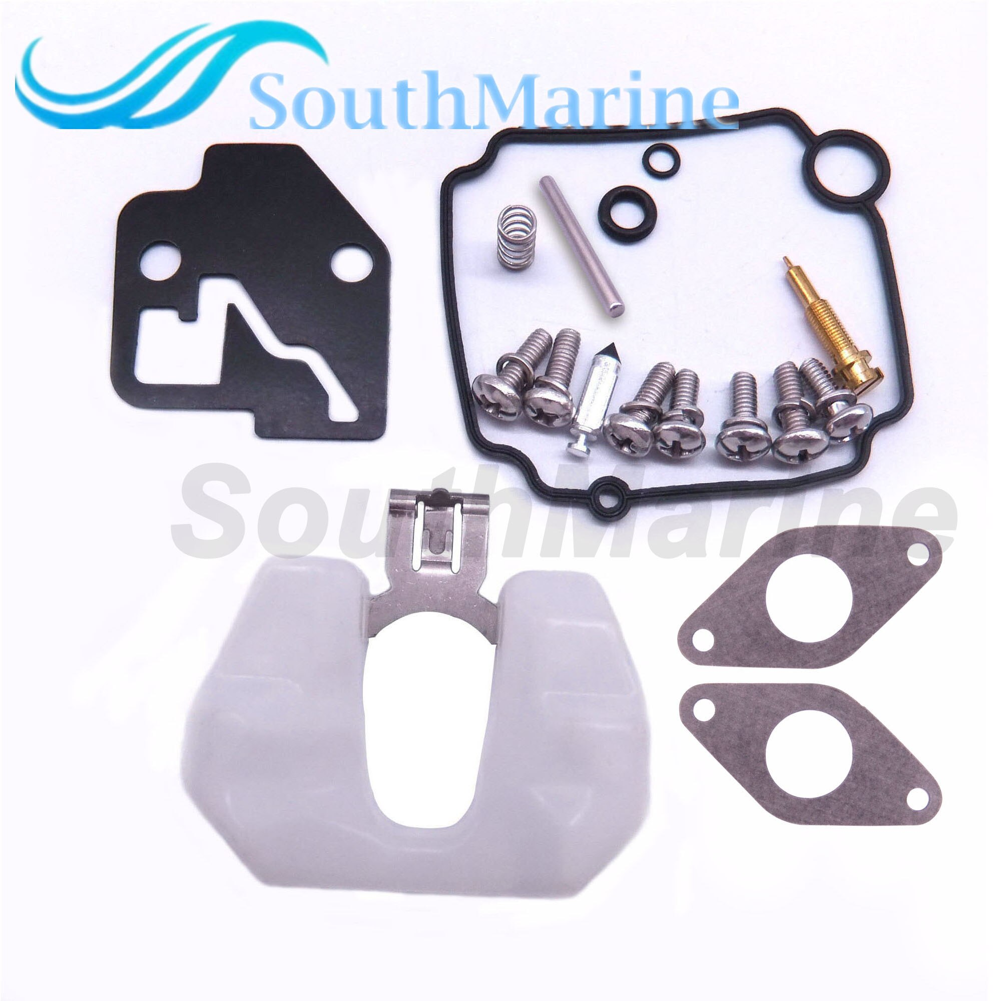 8M0044576 Carburetor Repair Kit for Mercury Mercruiser Quicksilver Outboard Engine 8HP 9.9HP