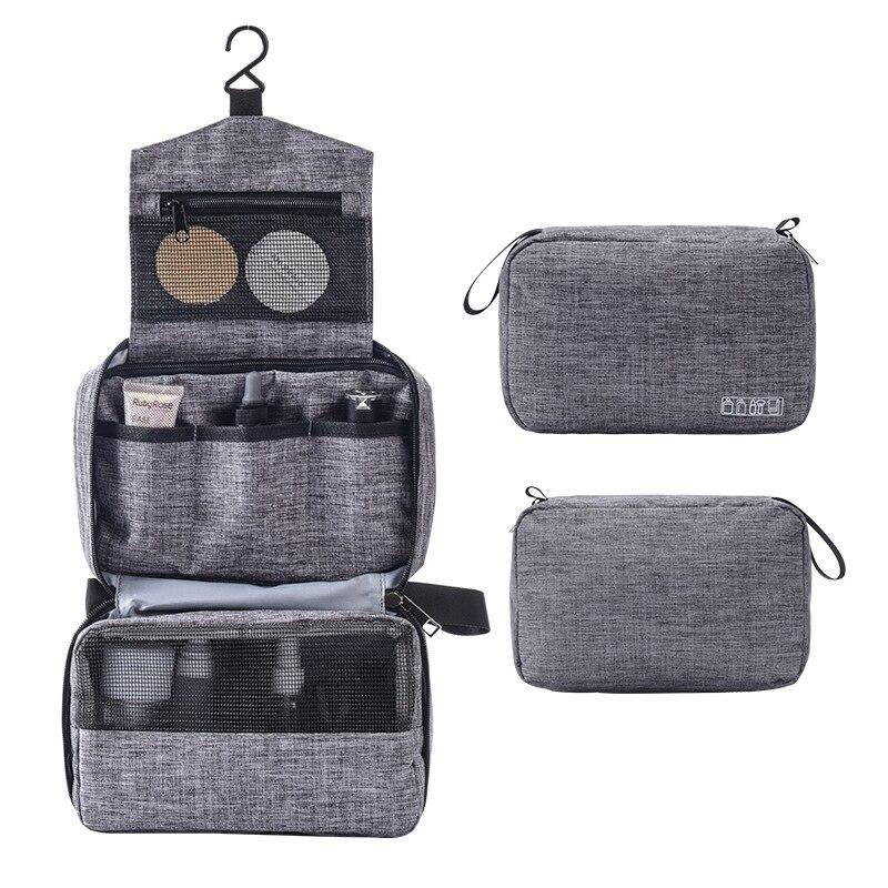 Подвесная многофункциональная сумочка-косметичка для мужчин и женщин, дорожный органайзер, косметичка для туалетных принадлежностей, сумка для хранения косметики, Складная Сумочка для косметики