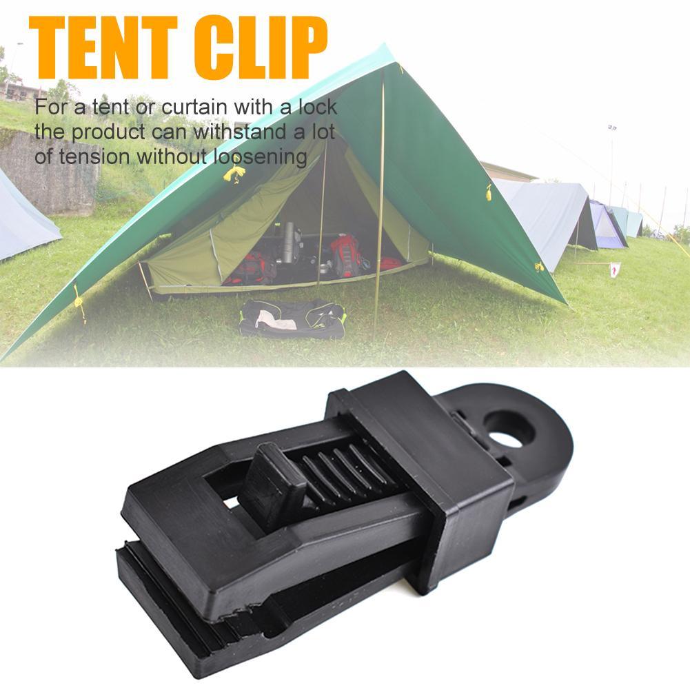 Lều Kẹp Kẹp Lều Cắm Trại Bạt Kẹp Tán Kẹp Bộ Bạt Phủ Bộ Bao Xe Thuyền Tích Tắc Barb Kẹp Cắm Trại Ngoài Trời