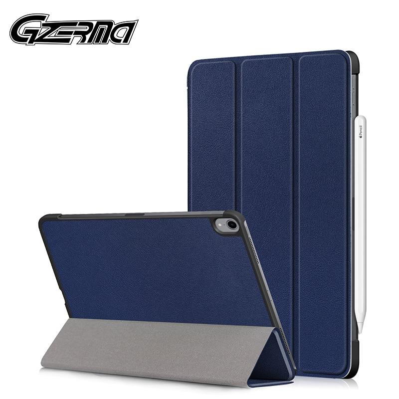 Gzerma caso para ipad pro 11 2018 caso inteligente folding estande folio capa para ipad pro 11 caso 2018 a1980 a2013 a1934 a1979 tablet