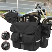 new black motorcycle bicycle saddlebag rear seat backpack detachable backseat saddle bag shipping fast delivery dropship