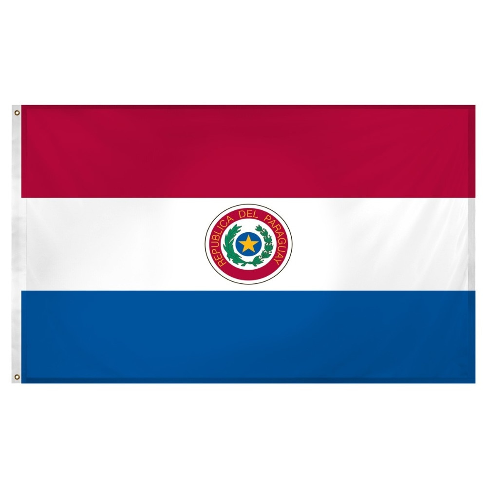 Py pry a bandeira da república do paraguai para decoração 90*150cm pendurado decoração