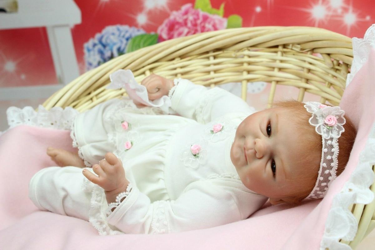 Muñecos Reborn de bebé de 16 pulgadas, chupete magnético de silicona suave, regalos de juguetes para recién nacidos, 40CM
