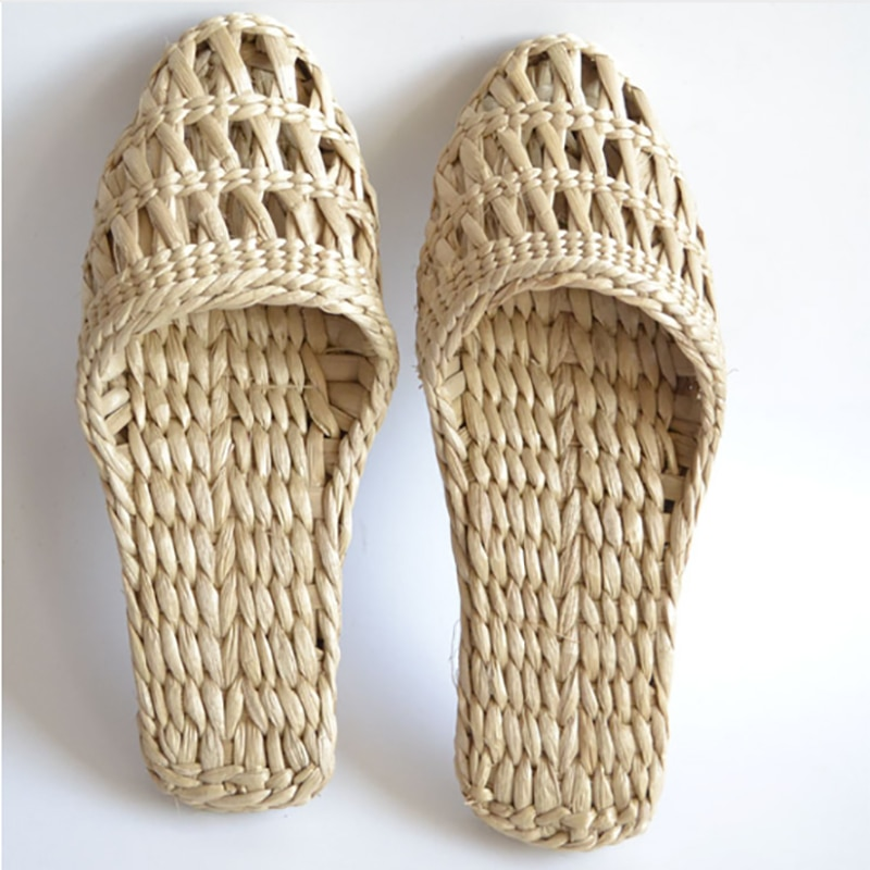 2020 women's straw slippers new couple shoes handmade Chinese style comfortable sandals summer fashion unisex home shoes 2 jarycorn shoes women s straw slippers new couple shoes handmade chinese style comfortable sandals2020 summer fashion unisex home