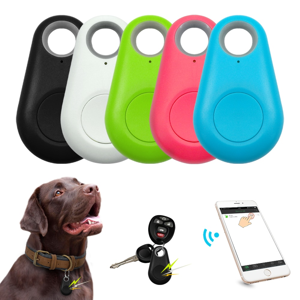 Chien intelligent GPS Tracker Mini Anti-perte animal de compagnie Bluetooth localisateur traceur pour chien de compagnie chat enfants voiture portefeuille clé collier accessoires