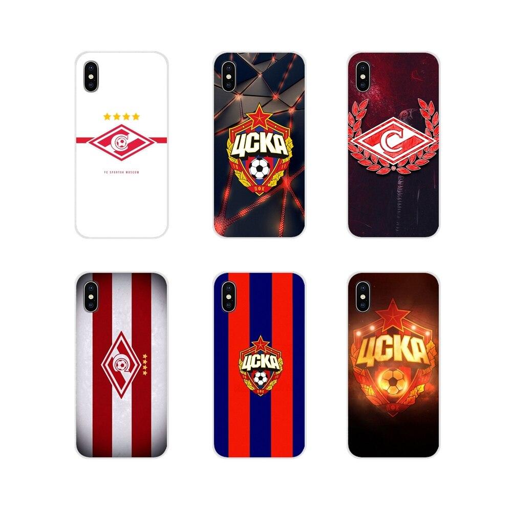 Moscú ruso fútbol cubiertas de la caja del teléfono móvil para Huawei G7 G8 P7 P8 P9 P10 P20 P30 Lite Mini Pro P Smart Plus 2017 de 2018 a 2019