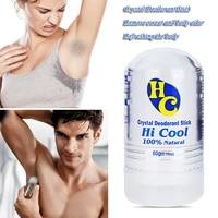 60g crystal deodorant alum stick body underarm odor remover antiperspirant for men and women men deodorant stick undefined