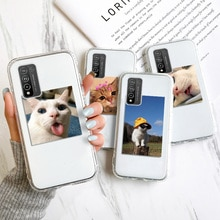 Phone Case For Huawei P30 Lite Cartoon Animals Clear Silicone Cover For Honor 10 lite 8X 20 Pro Y5P