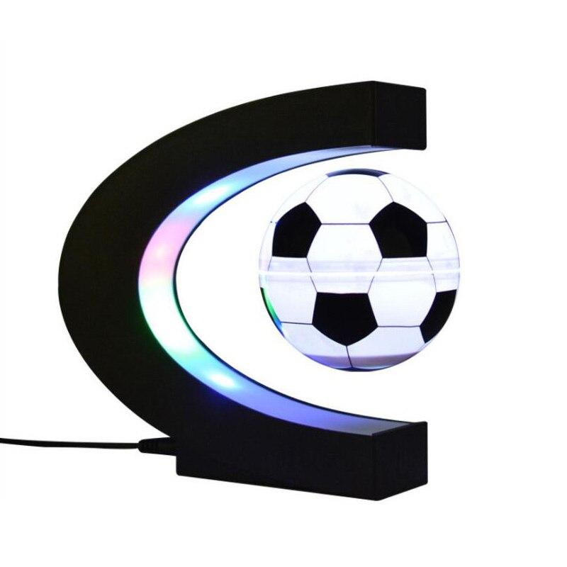 جديد LED المغناطيسي الإرتفاع ليلة ضوء العائمة كرة السلة مصباح ل الجدة الكرة عيد ميلاد الديكور هدية الكريسماس