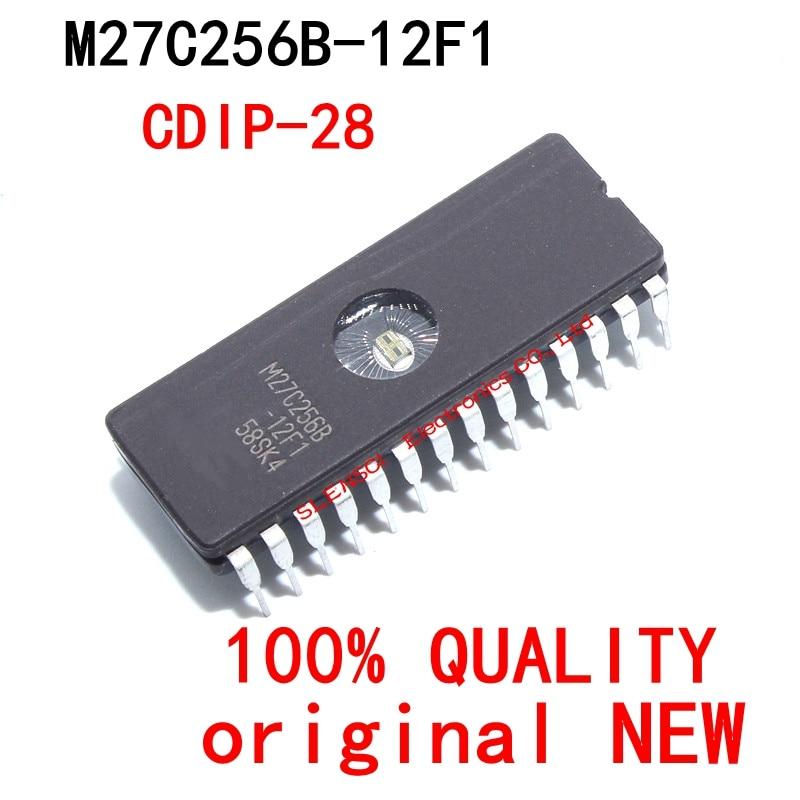 10Pcs M27C256B-12F1 M27C256B Dip M27C256 M27C256B-10F1 Dip-28 Nieuwe Originele