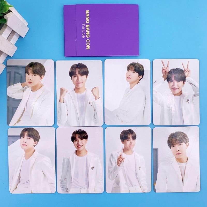 kpop enhypen small card random card official photo photo card same style KPOP Bangtan Boys BANGBANGCON Small Card Random Card Polaroid Collection Photo Card Peripheral Same Style