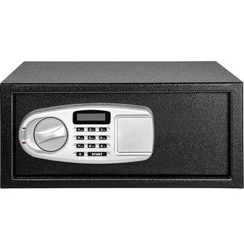VEVOR Home Digital Hidden Security Safe Save Money Storing Collections Components Electronic Code Lock 0.8 Cubic Feet Box