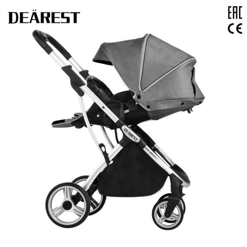 Dearest 1108 Baby Stroller Can Sit Or Lie Lightweight Folding High Landscape Shock Absorption Baby enlarge