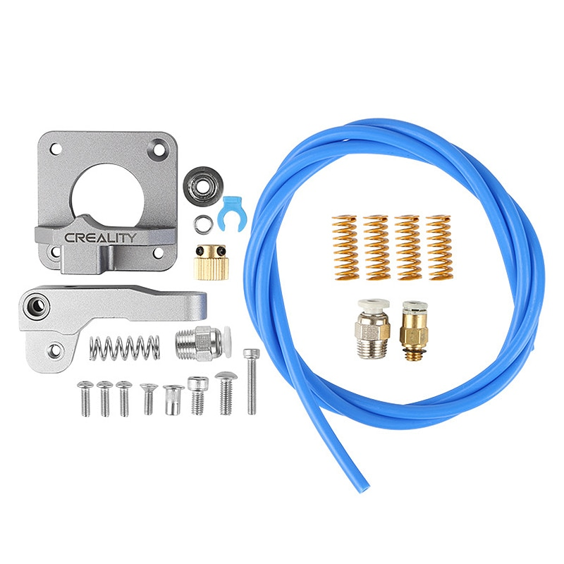 Extruder for 3D Printer Ender 3/3 Pro / 5 CR-10 / MK8 Bowden 1.75mm + Spring Pneumatic Joint Kit Accessories Extruder Frame