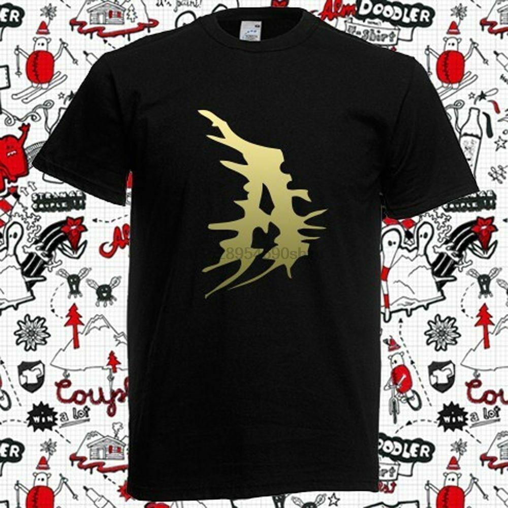 Atila Rock Metal logotipo de la banda negra para hombre Camiseta