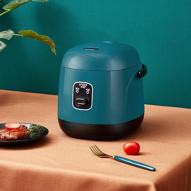 الكهربائية آلة الطبخ المنزلية الصغيرة 1-2 الناس الساخن وعاء متعددة طنجرة الأرز الكهربائية غير عصا عموم متعددة الوظائف 220V صانع
