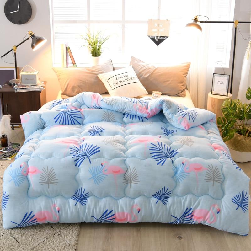 New Design Down Duvet 3d Print Quilt Very Warm Winter Thick Blanket Bedding Filler King Queen Twin Full Double Size Comforter