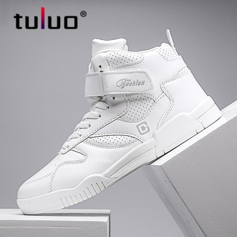 ¡Novedad de 2020! Zapatillas de Skateboarding para hombres de alta calidad, zapatillas transpirables para caminar, zapatos deportivos de Hip Hop para la calle para hombre