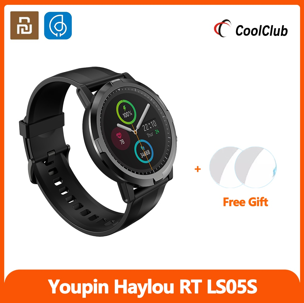 Monitor de Freqüência Ip68 à Prova Xiaomiyoupin Haylou Smartver Bluetooth Versão Global Cardíaca Dip68 Água Relógio Inteligente Suporte Coreano rt Ls05s