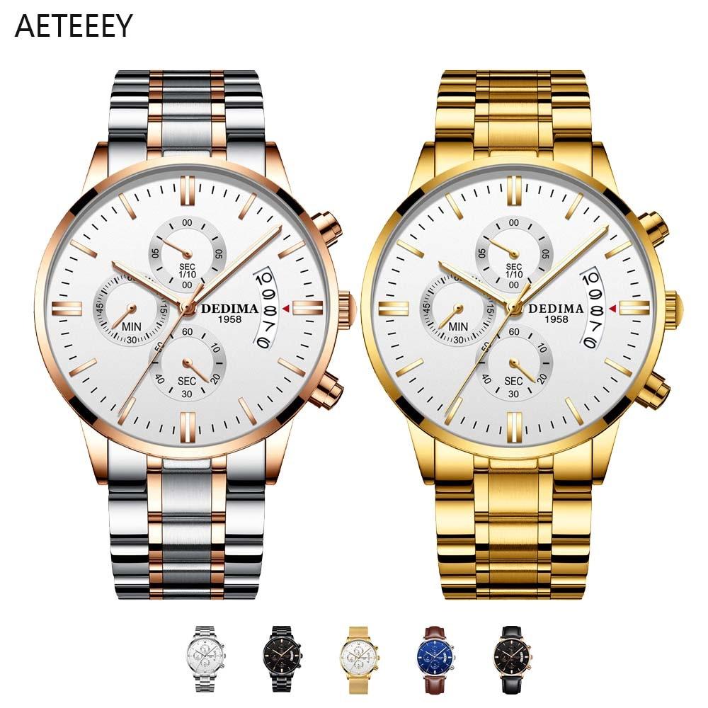 2021 Men Watches Luxury Famous Top Brand Men's Fashion Casual Dress Watch Military Quartz Wristwatch
