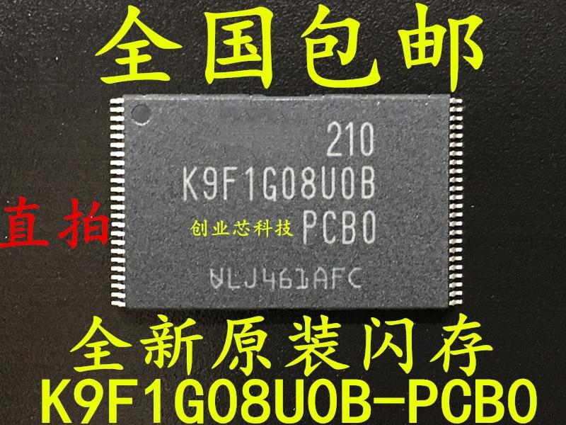 10 pces K9F1G08UOB-PCBO TSOP-48 k9f1g08uob tsop novo e original