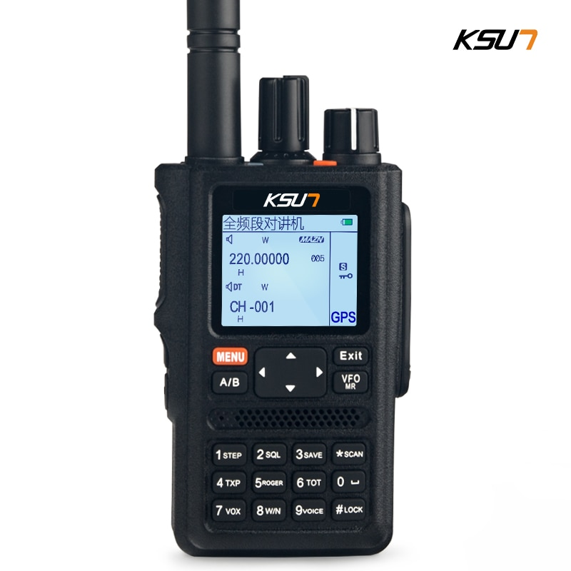 1 Or 2PCS KSUN Walkie Talkie Outdoor 10W Full Screen Segment GPS Positioning Multifunctional Dual Segment Color Screen Handheld enlarge
