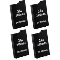2pcs4pcs 2400mah replacement batteries for sony psp2000 psp3000 psp 2000 psp 3000 gamepad for playstation portable controller