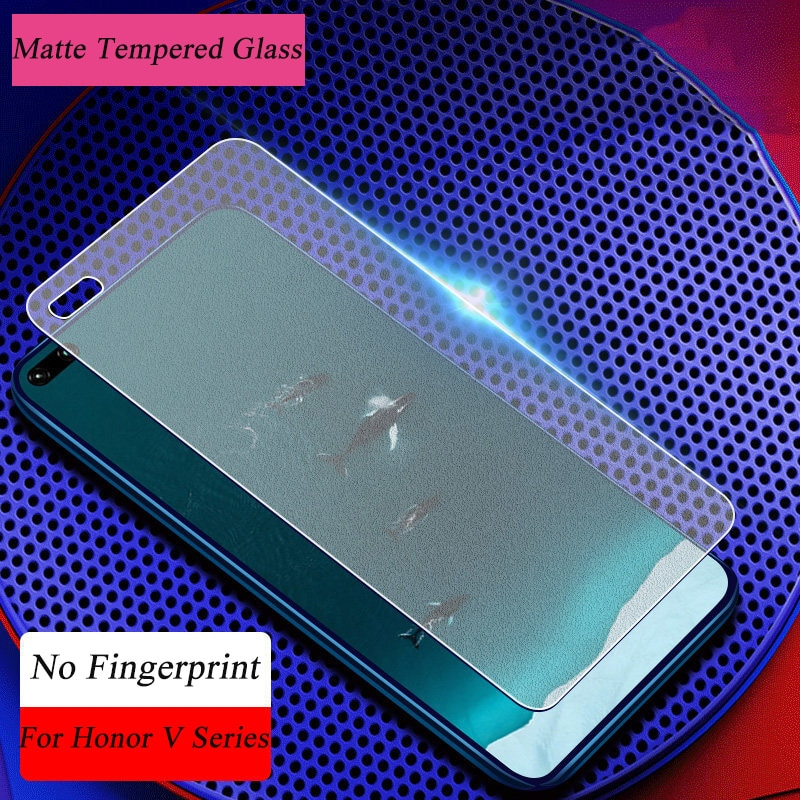 Matte Frosted Tempered Glass For Huawei Honor V30 Pro Screen Protector For Huawei Honor View 30 Pro 20 10 9 V20 V10 V9 Play Film