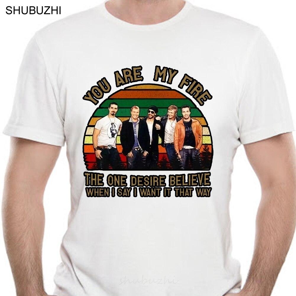 Мужская черная футболка с надписью «Backstreet Boy YouRe My Fire I Want It That Way», хлопковая модная футболка S 4Xl, мужская хлопковая брендовая футболка