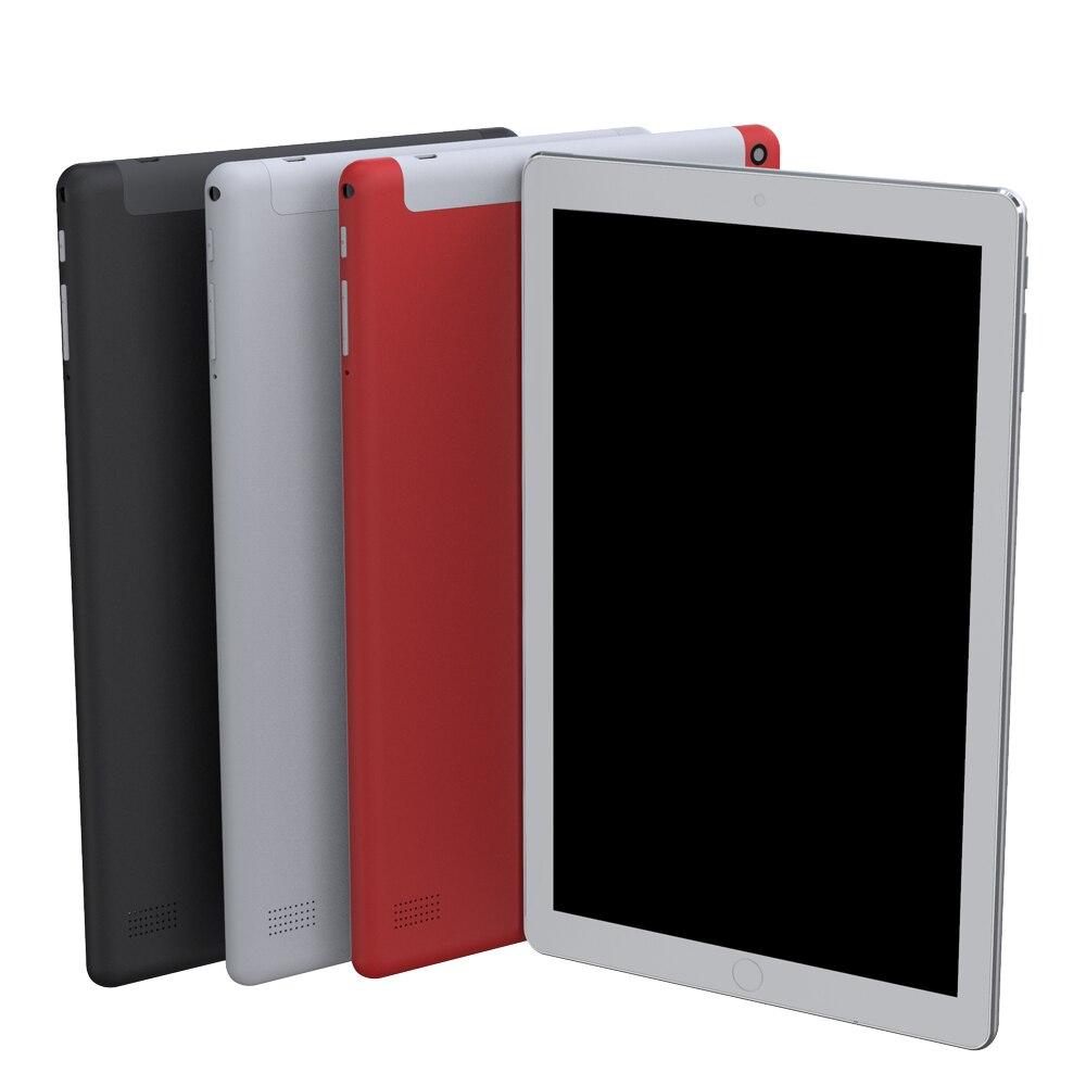 10-дюймовый планшетный ПК с системой андроида и 7,0 планшетный ПК, объемом памяти 4 Гб/64GB Bluetooth WiFi 4 ядра планшет 1280*800 IPS 4G телефон, планшет на OC ...