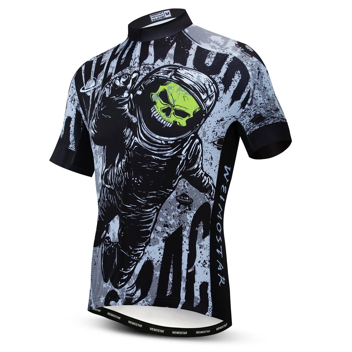 2020 Cycling Jersey men Bike mountain road MTB bicycle shirt Ropa Ciclismo maillot Racing cycle top summer clothing skull green