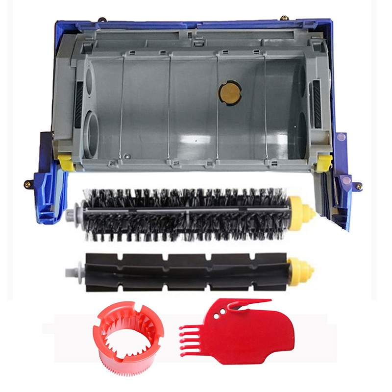 Kit de accesorios de repuesto, armazón de cepillo principal, cabezal de limpieza, módulo CHM Brushes 620 650 790 para la serie Roomba 600 700